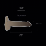 "DIRK     Length 8-1/2"" Circumference 6″ Diameter 2"""