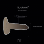 "ROCKWELL   Length 6-1/2"" Circumference 5-1/2″ Diameter 1-7/8"""