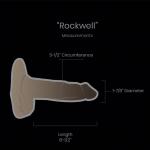 "ROCKWELL   Length 6-1/2"" Circumference 5-1/2″ Diameter 1-7/8"""